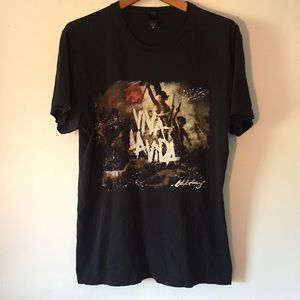 Viva La Vida Tour Coldplay Concert Shirt Large
